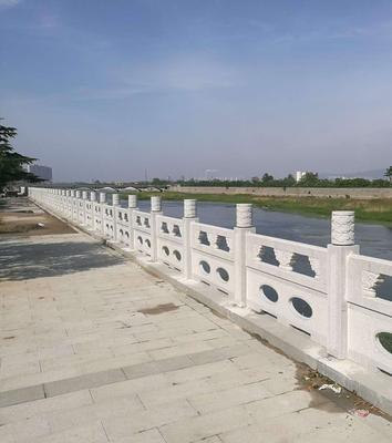 白麻石材栏杆